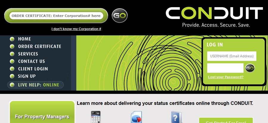 Online Status Certificates