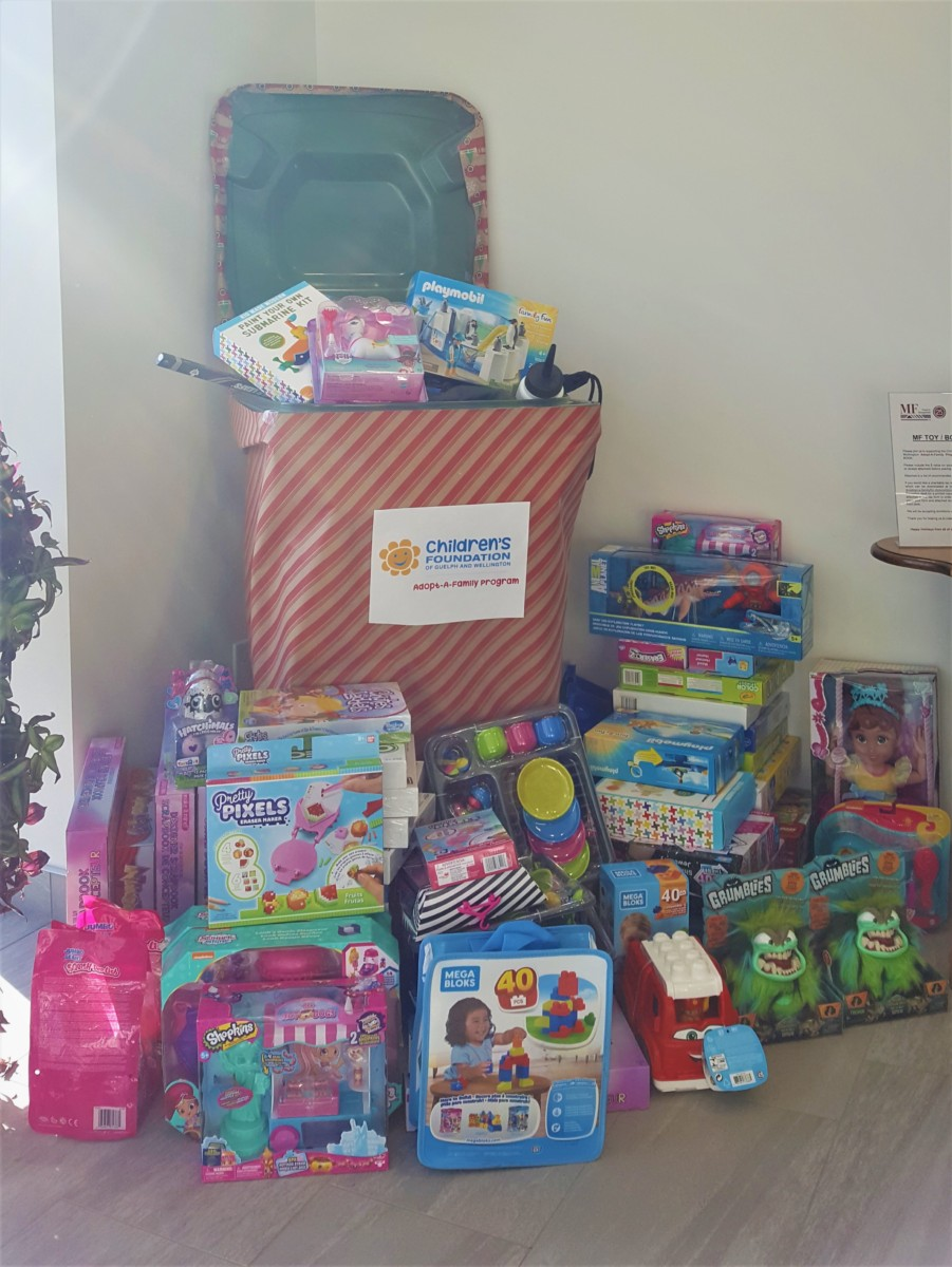 Successful Toy Drive!
