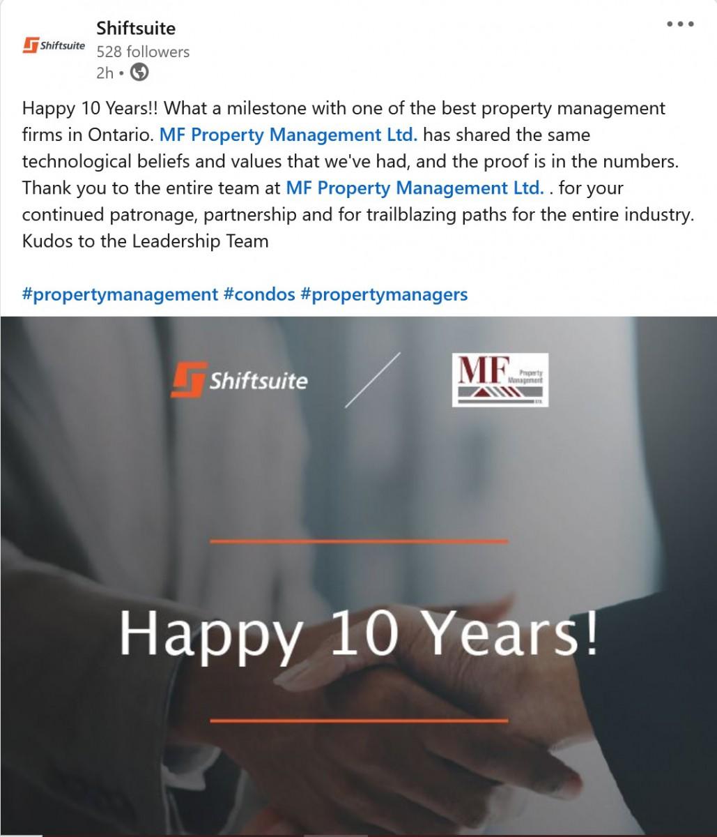 Happy 10 Years!
